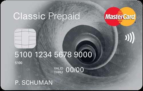 prepaid mastercard web