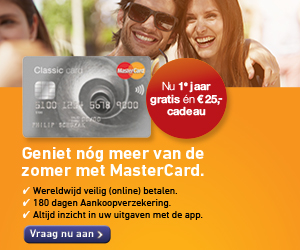 mastercard 25 euro cadeau