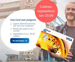 ANWB Visa card voor jongeren