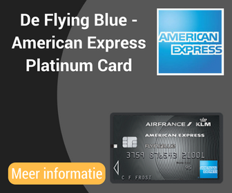De Flying Blue -American ExpressPlatinumCard
