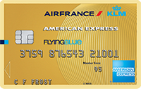 American express flying blue gold actie