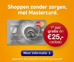 mastercard creditcard aanvragen met 25 euro gratis