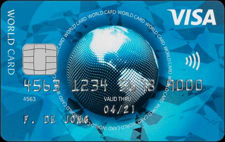 visa world card web