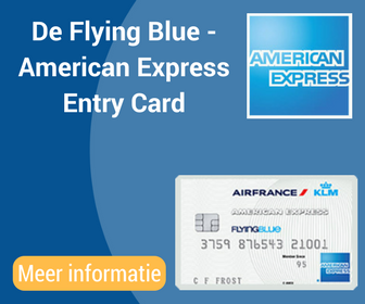 De Flying Blue -American ExpressEntryCard