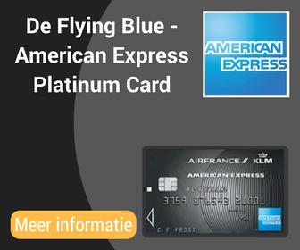 De Flying Blue -American ExpressPlatinumCard