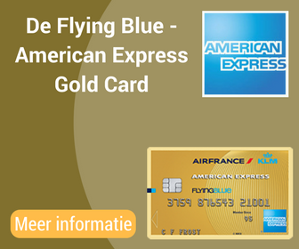 De Flying Blue -American ExpressGold Card