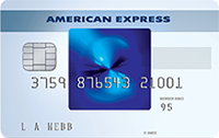 American Express blue