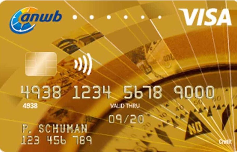 ANWB Visa Gold card aanvragen