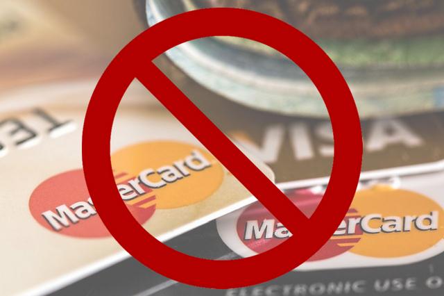 Creditcard geblokkeerd bij achterstand betaling