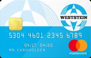 weststein prepaid creditcard