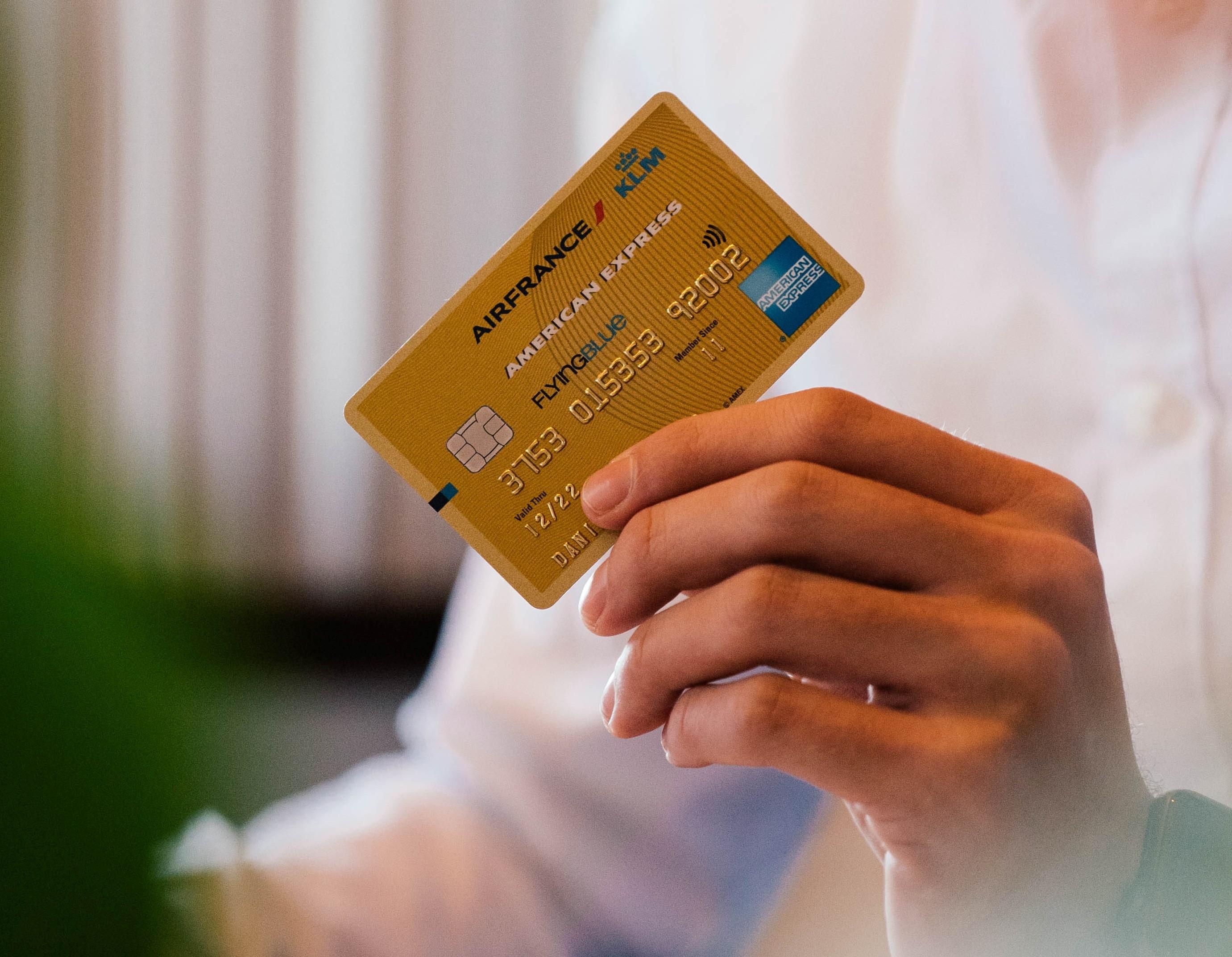 reservering creditcard