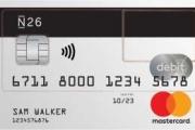 N26 Debit Mastercard aanvragen