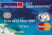 GWK Prepaid Creditcard Cash Passport